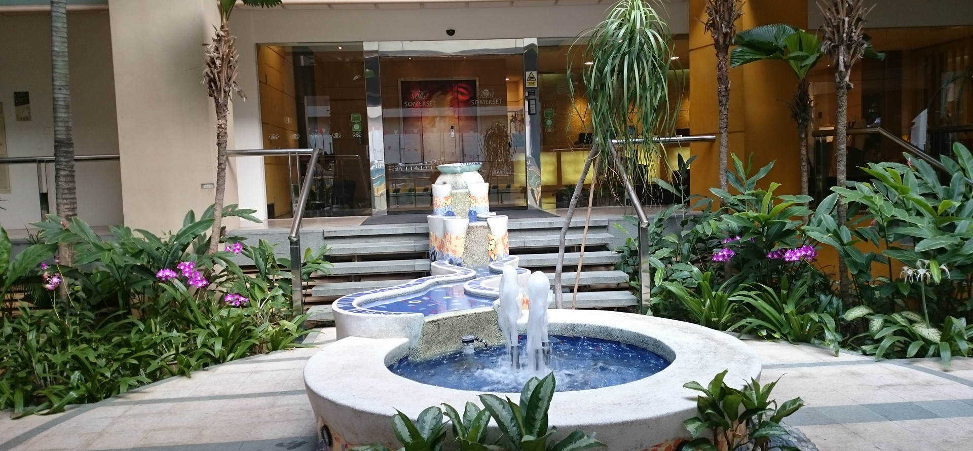 Living Large At Somerset Bencoolen Singapore