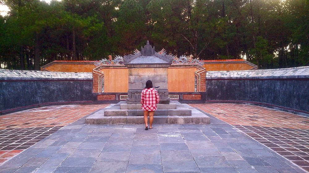 Makam simbolis Kaisar Tu Duc Hu Vietnam © Arakita Rimbayana BuLiBi Bukan Liburan Biasa