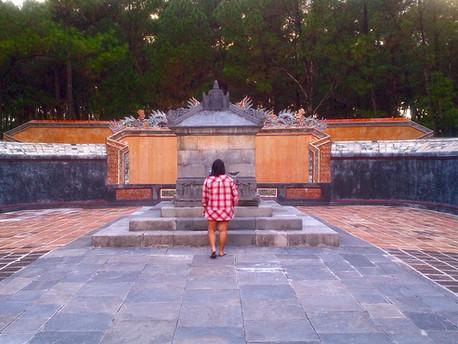 Makam Kaisar Tu Duc Di Hue, Vietnam