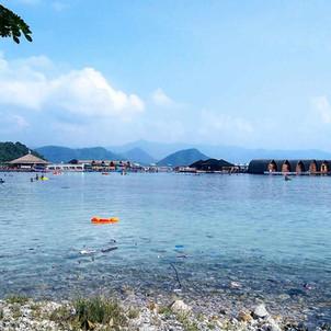 Wisata Eksotis ke Pulau Tegal Mas Lampung