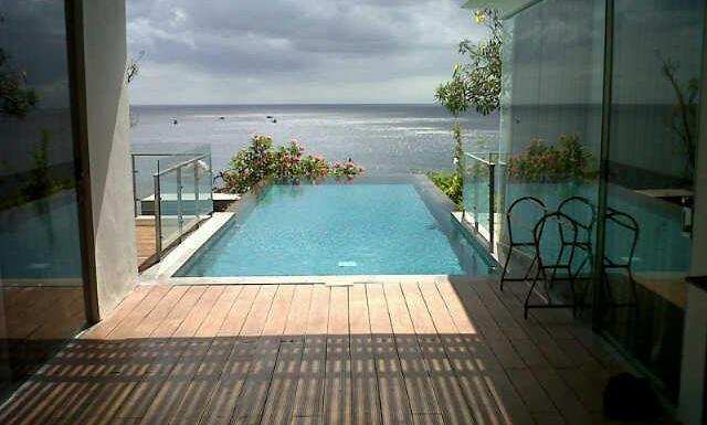 Waking Up to the Amazing Ocean View at Anantara Bali Uluwatu Resort & Spa