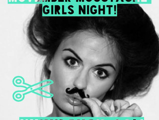 Movember Moustache Girls Night