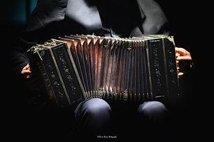 Lors d'un concert de Tango Argentin