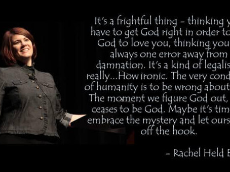 Lockdown Reflections Day 39: Thank God for Rachel