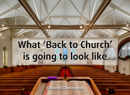 Five things churches need to do to prepare for Covid physical distancing