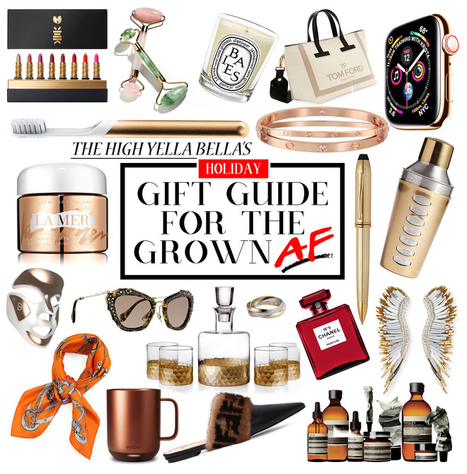 Holiday Gift Guide For The Grown AF
