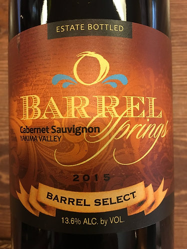 2015 Barrel Select Cabernet Sauvignon