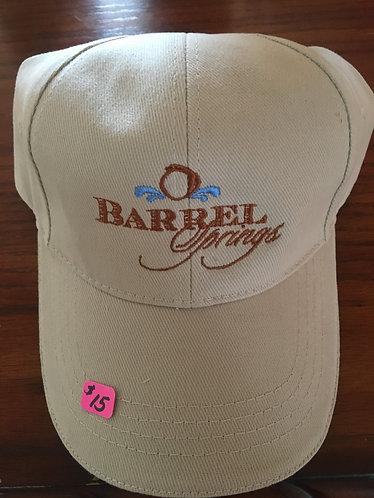 Barrel Springs logo baseball cap