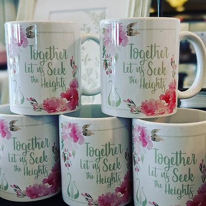 Seek the Heights Mug