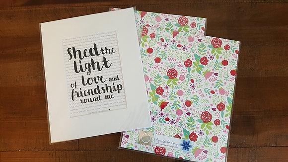 Symphony Print - Shed the Light