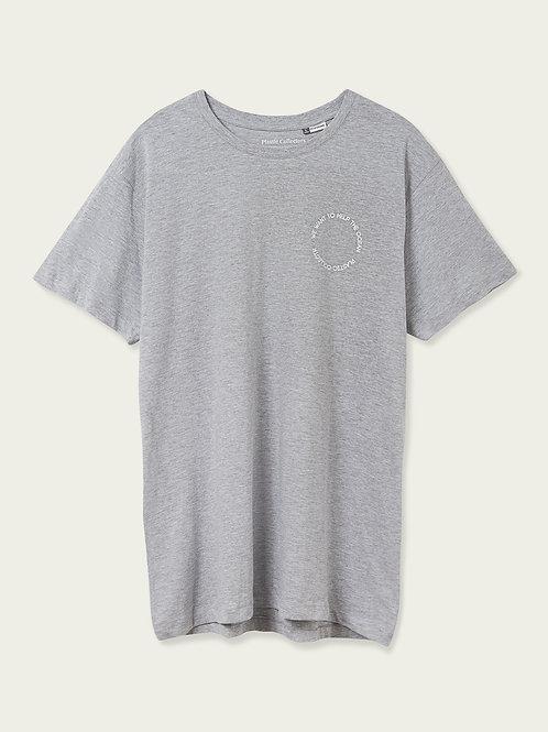 Camiseta We Help Gris