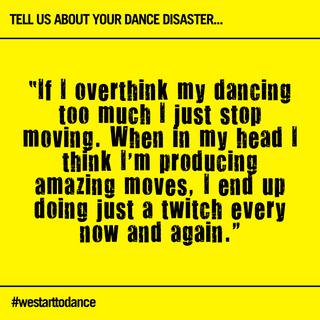 We step outside and start to dance (10).