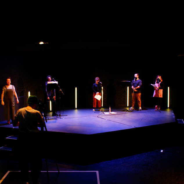 Recording at Live Theatre