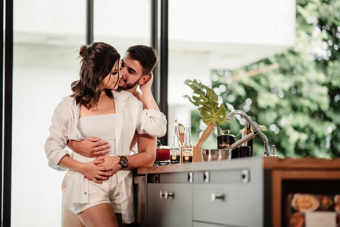 Ensaio Pré Casamento de               Alyne e Vinicius