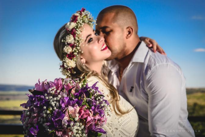 Ensaio Pré Casamento Pâmela e Vinícius