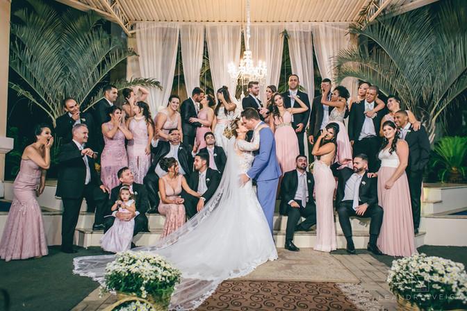 Casamento de Leandro e Maria Caroline