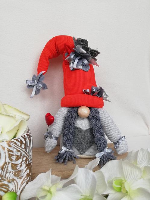 Gnom decorațiuni Romantic Grey 35 cm