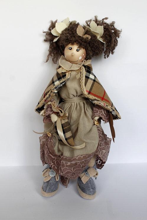 Păpuşă decorativă stand-up 44 cm