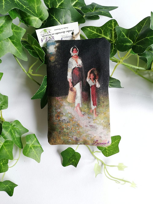 Perniță decorativă cu lavandă dim. 10x15 cm