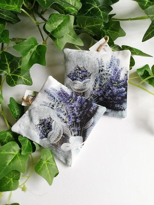 Perniță decorativă cu lavandă dim. 10x10 cm