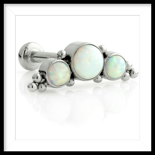 COUTURE  OPAL CLUSTER CRESCENT