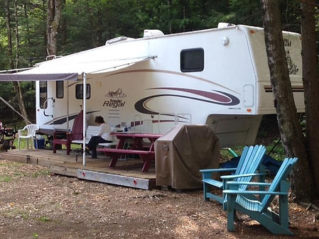 RV Campsite - Lake Luzerne - Lake George
