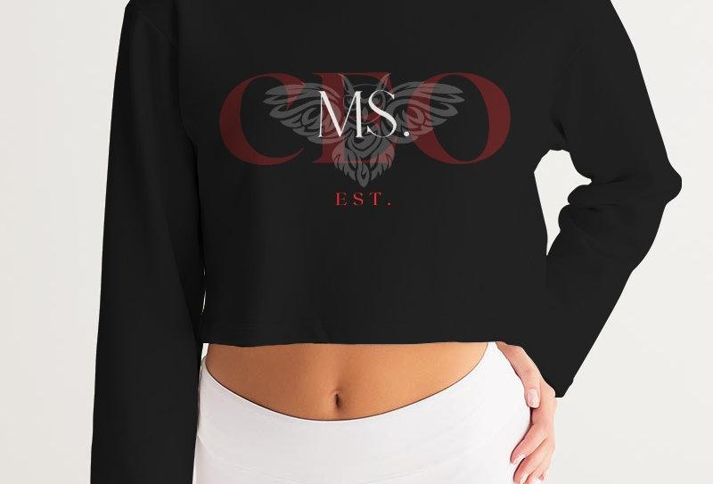 MS. CEO EST. Cropped Sweatshirt