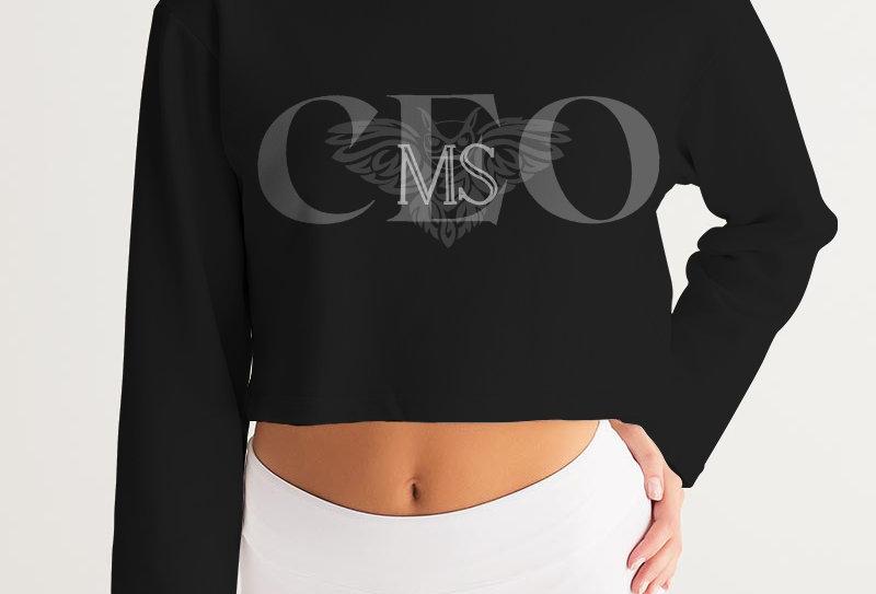 MS CEO Cropped Sweatshirt