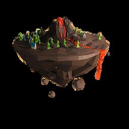 kisspng-volcano-low-poly-designer-illust