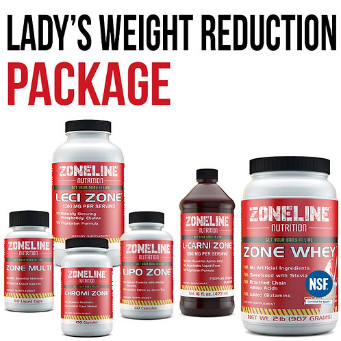 LADY'S WEIGHT REDUCTION PACKAGE