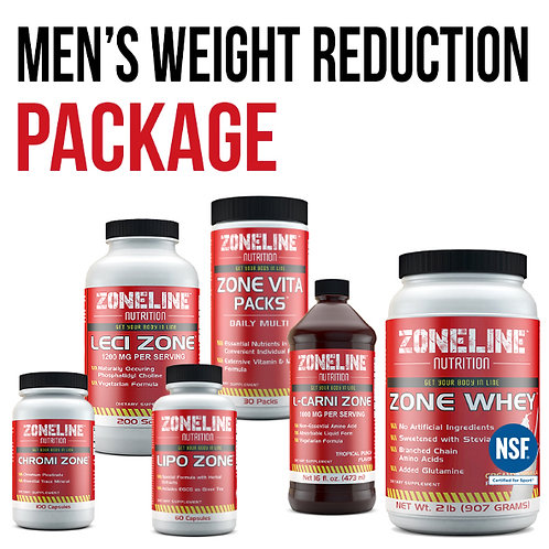 MEN'S WEIGHT REDUCTION PACKAGE