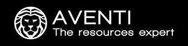 AVENTI - Logo English Black