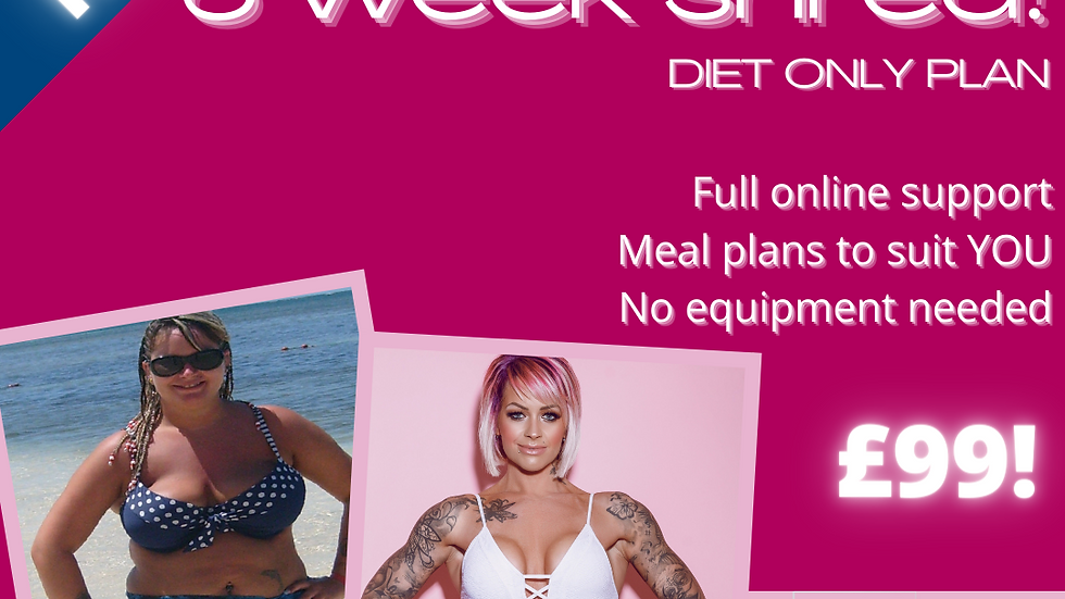 6 WEEK DIET ONLY SHRED