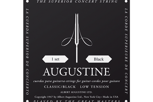 Augustine BLACK low tension