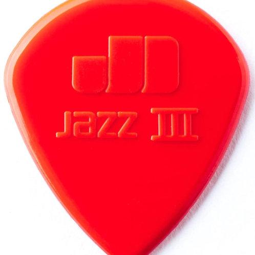 Dunlop NYLON Jazz III 1,1mm ROOD