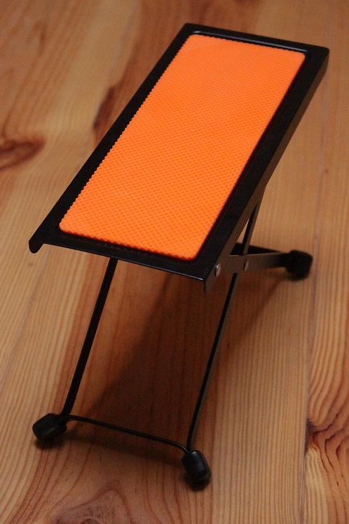 voetbankje - oranje
