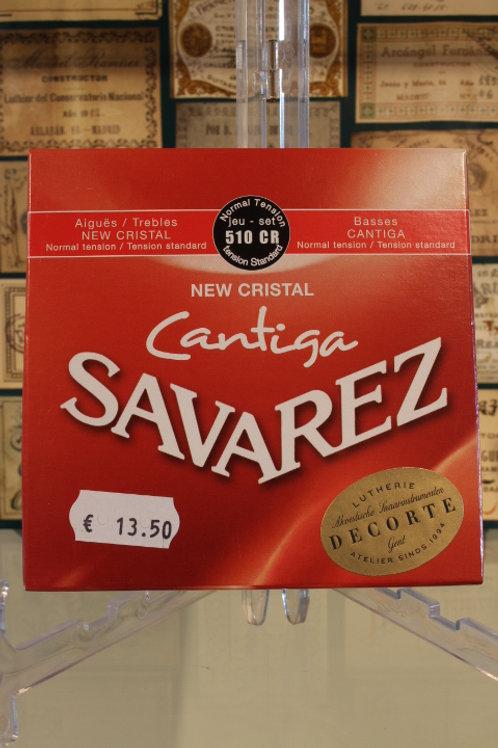 Savarez 510 CR CANTIGA New Cristal NT