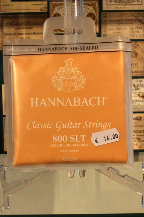 Hannabach 800 SLT Nylon Super Low Tension