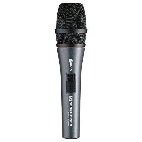 Sennheiser E865S Condensator Microfoon Met Schakelaar