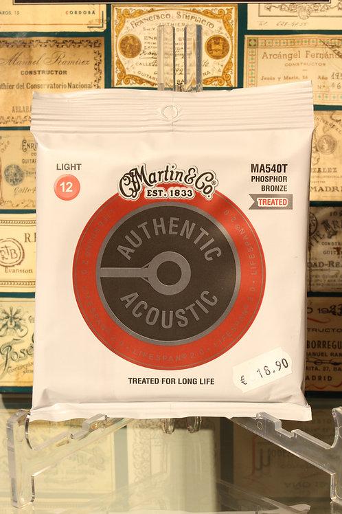 Martin MA540T 0.012 - 0.054 Phosphor Bronze Treated LIGHT