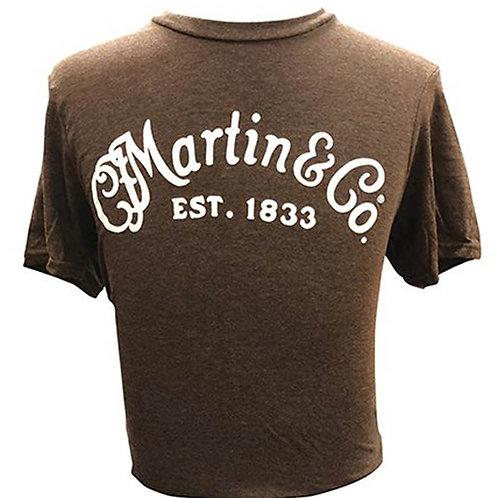 Martin logo t-shirt Bruin