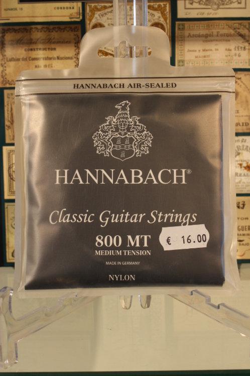 Hannabach 800 MT Nylon Medium Tension