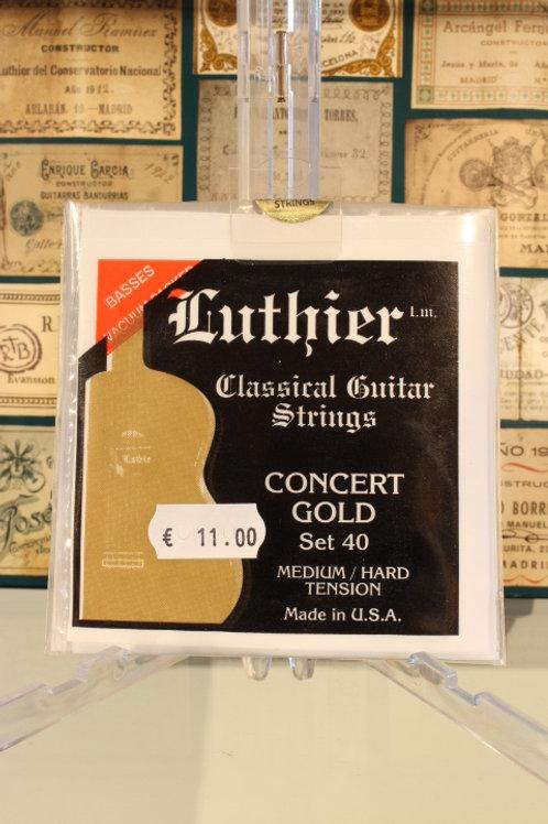 Luthier L40 Classical Medium/Hard Concert Gold