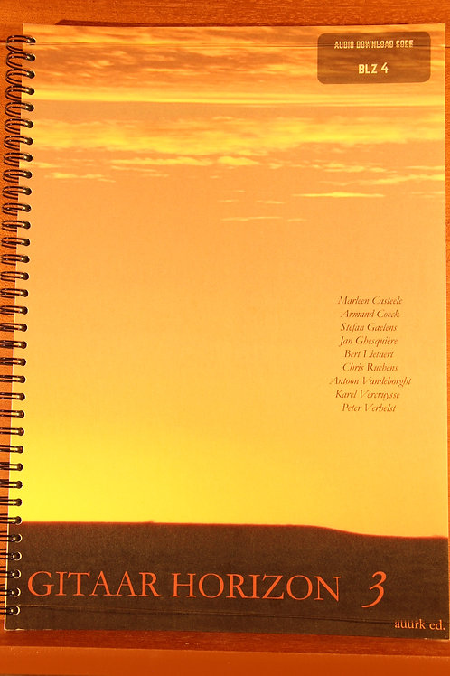 Horizon 3 - Klassieke Gitaarmethode