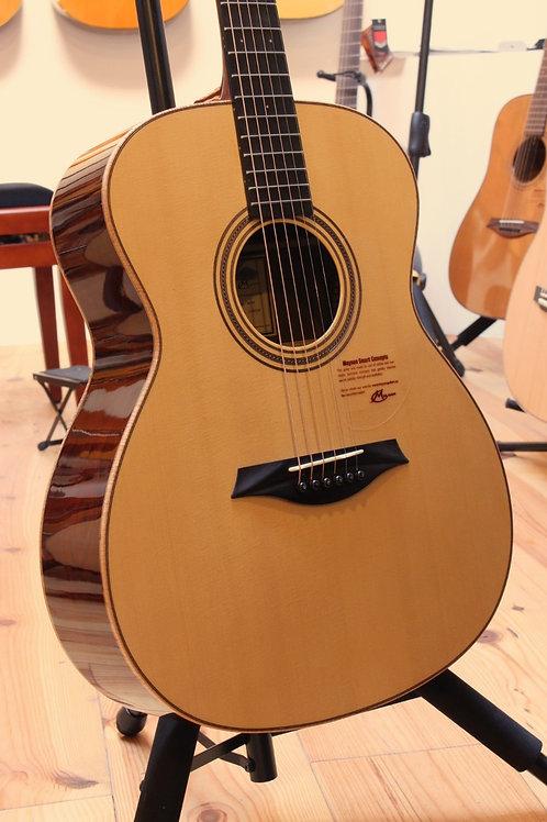 Mayson Luthier M10/S vuren/cocobolo + draagtas