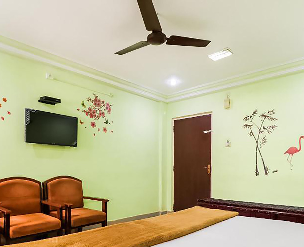 Room1 - Double Bed Room with all basic ameneties