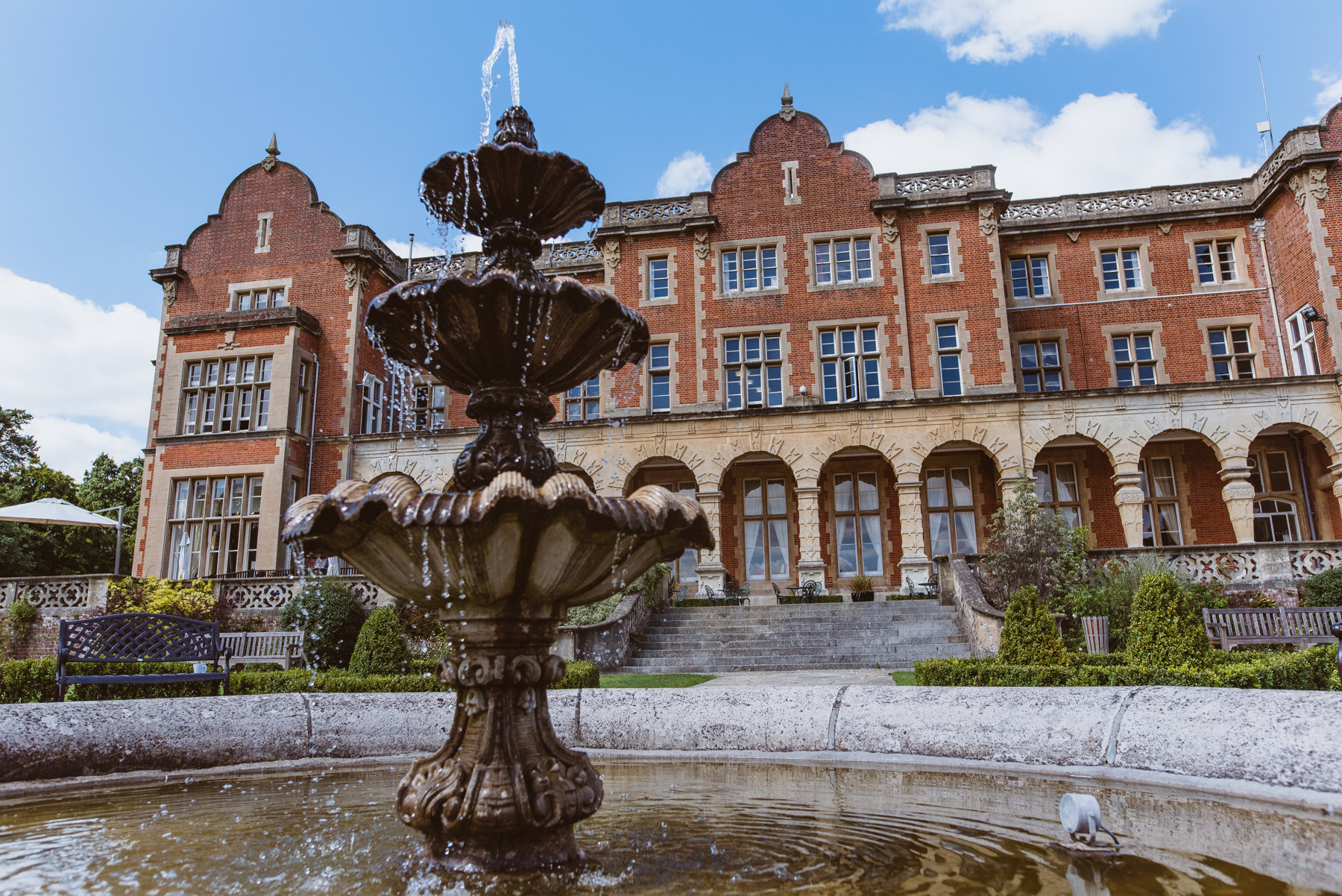 Easthampstead Park Wedding Day