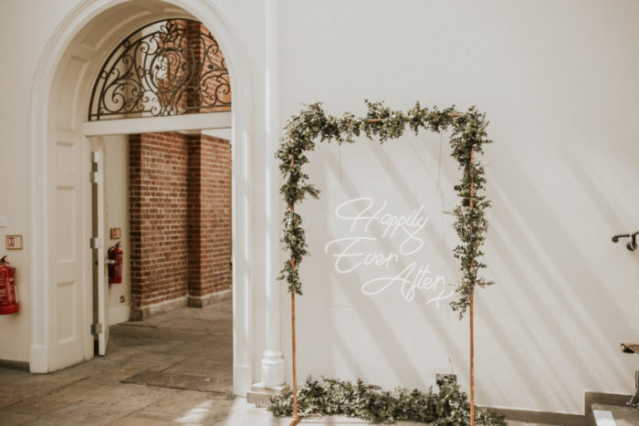 happily ever after neon signs