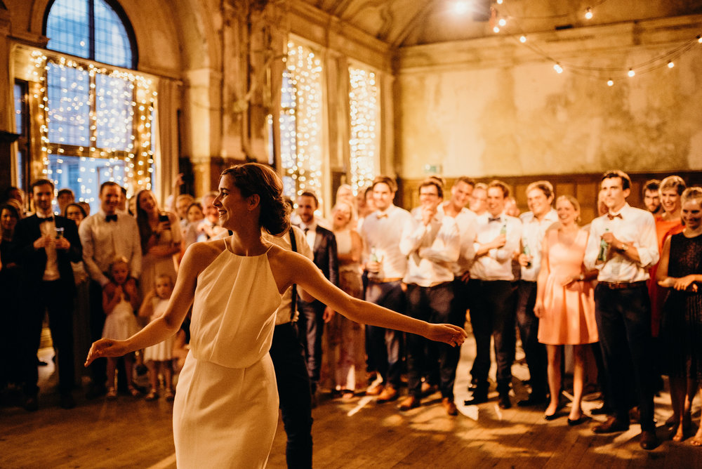 Wedding Day at Battersea Arts Centre