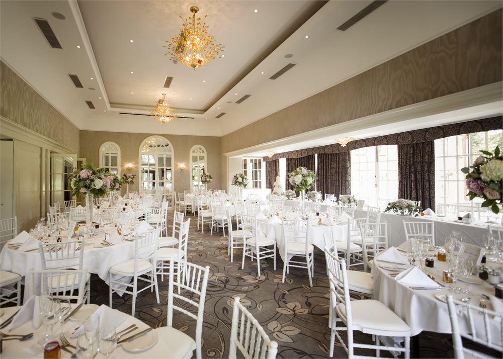 Royal Berkshire Hotel Wedding Dance Floo